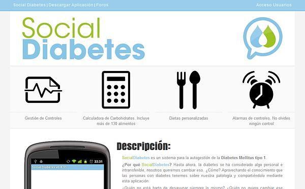 SocialDiabetes diabetes tipo 1