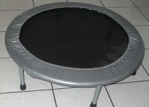 mini trampolin aerobic