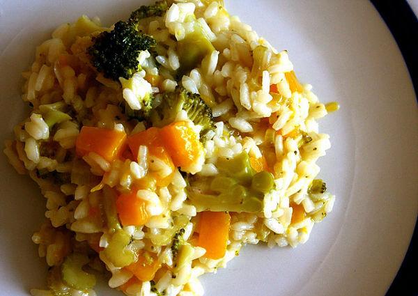 receta arroz brocoli mango receta