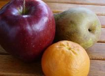 Frutas con hierro