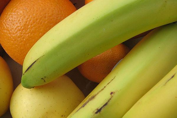 frutas antes despues entrenar
