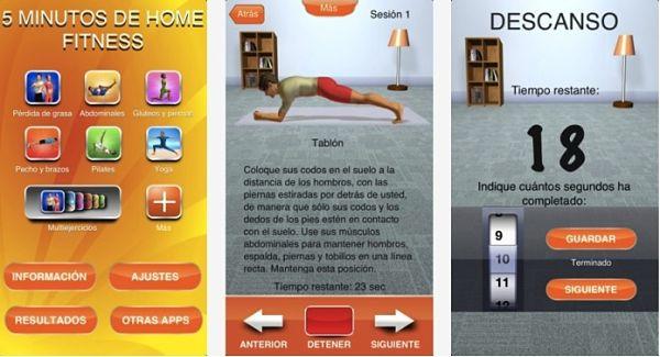 5 minutos de home fitness una aplicaci n m vil para hacer ejercicio en casa - Aplicaciones para hacer deporte en casa ...