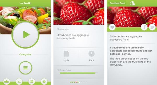 Runtastic test app nutricion