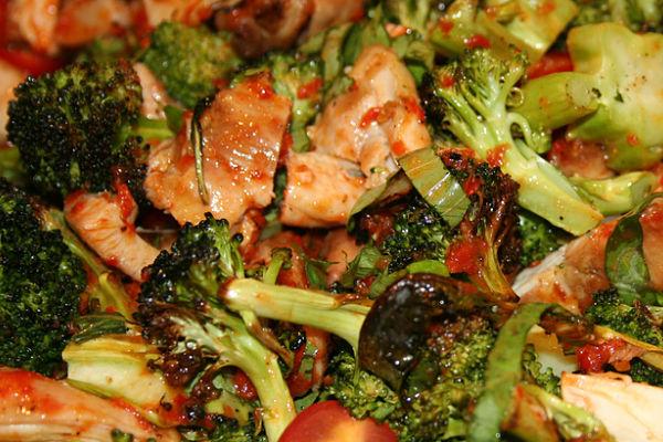 ensalada brocoli