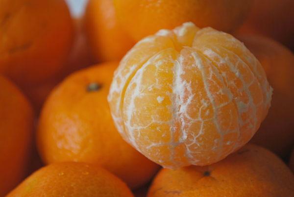 calorías mandarina