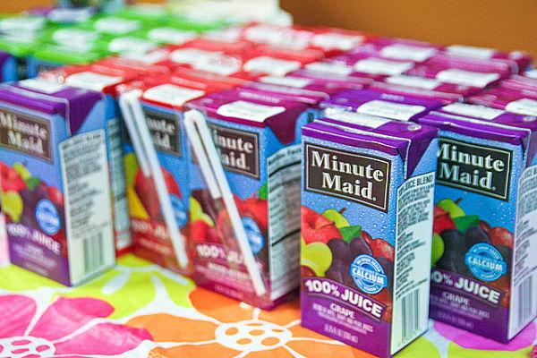zumos envasados saludables