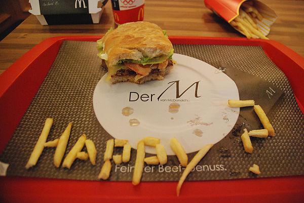 McDonalds multada juguetes menús infantiles