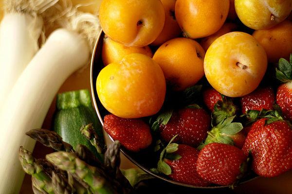frutas verduras primavera
