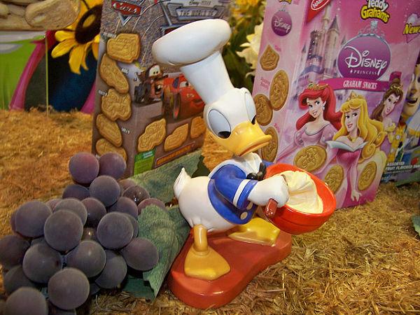 Disney comida basura