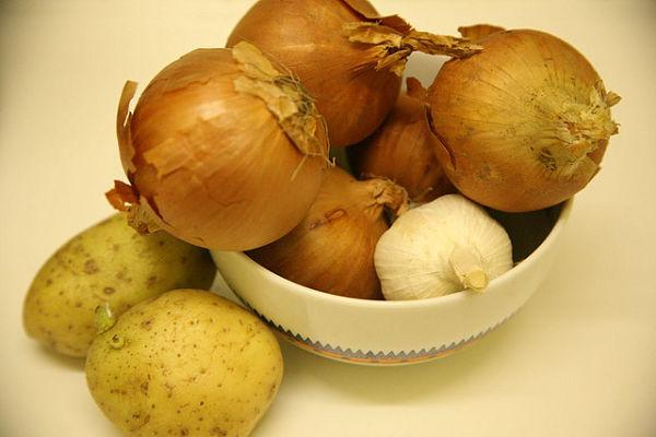 cebollas ajo legumbres gripe resfriado