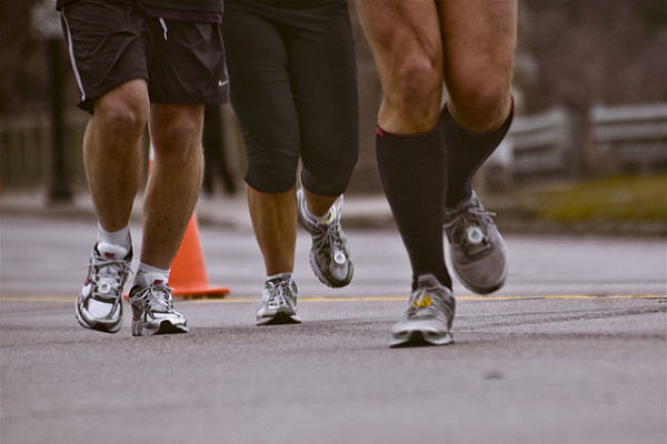 dolor de rodilla al correr