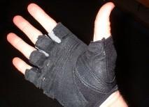 guantes manos pesas mancuernas