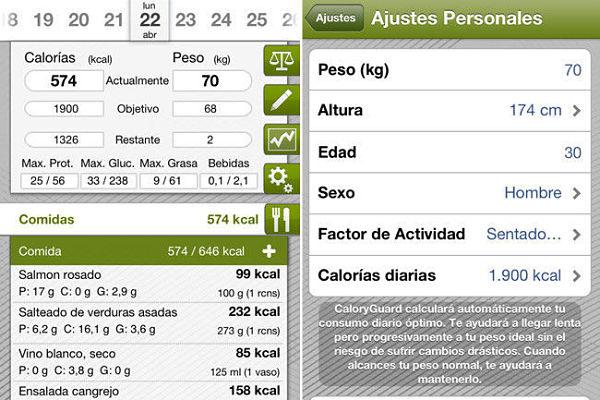 Caloryguard Pro calorias
