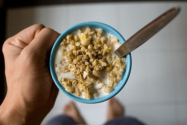 desayuno antes gimnasio