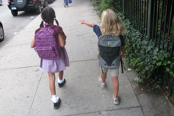 primer dia colegio guarderia