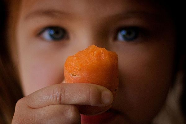 verduras niños