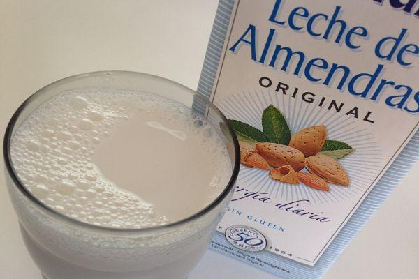 leche almendras