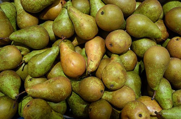 calorías de la pera