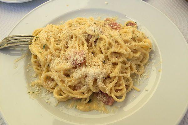 calorías plato de pasta